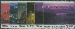 NZ SG1855-60 New Zealand by Night set of 6